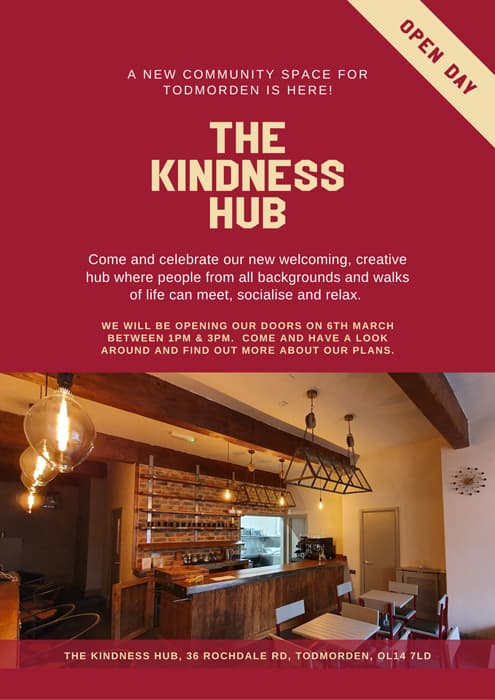 The Wellness Hub Todmorden Invitation