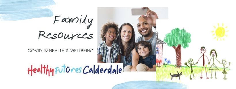 COVID-19 health and wellbeing resources for families
