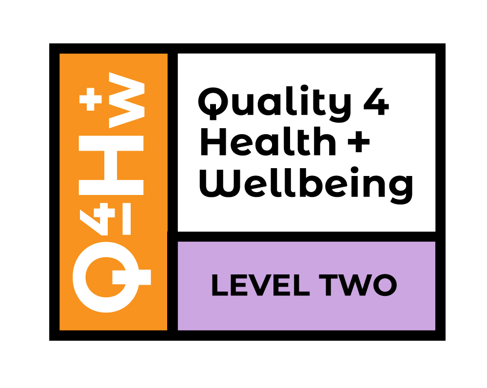Quality for Health and Wellbeing Level two Logo