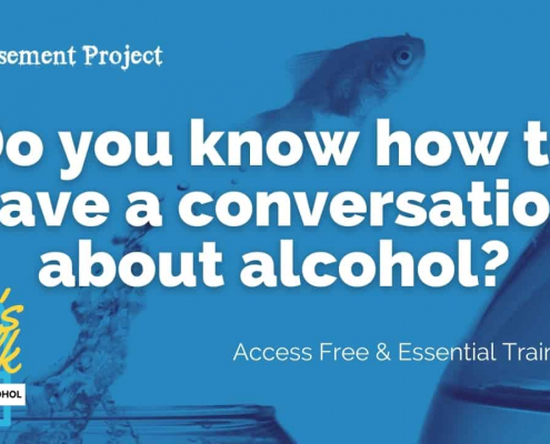 Advert for free Alcohol Brief Interventions Training
