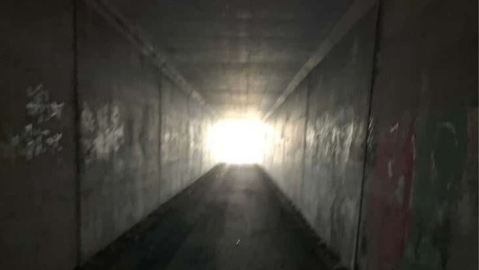 Light at the end of the tunnel. Addiction Recovery Story by Sam