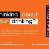 Alcohol Awareness Week 2018 campaign Poster