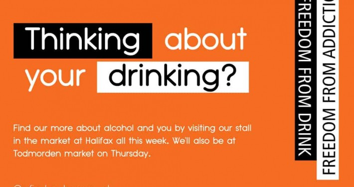 Alcohol Awareness Week 2018 campaign Poster