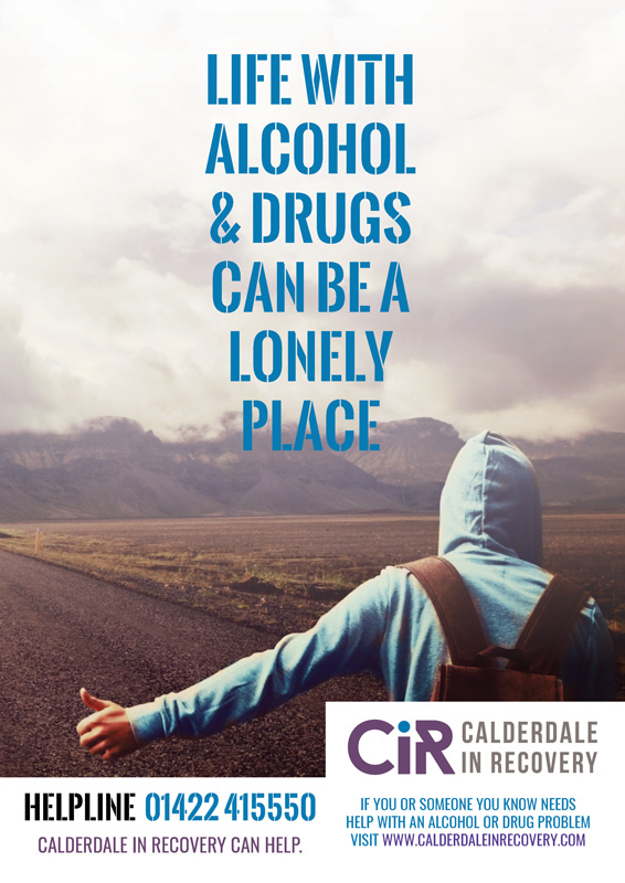 Image of Display Poster for Calderdale in Recovery