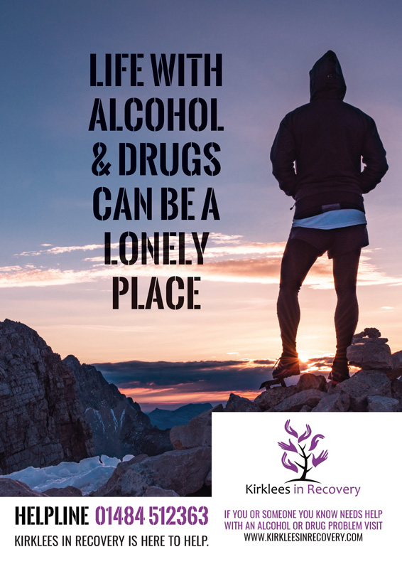 Image of Display poster for Kirklees in Recovery