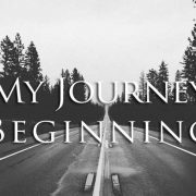 my journey beginning - poem by g. crosbie