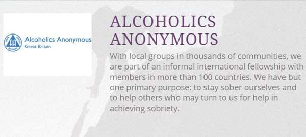 Alcoholics Anonymous, AA Meetings, Calderdale, Kirklees, Huddersfield, Halifax