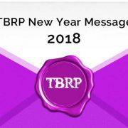 TBRP New Year Message for 2018