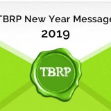 TBRP Happy New Year 2019 message envelope graphic