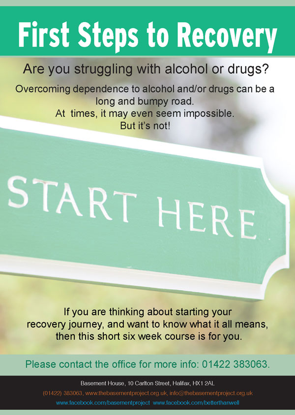 TBRP Steps to Recovery Poster