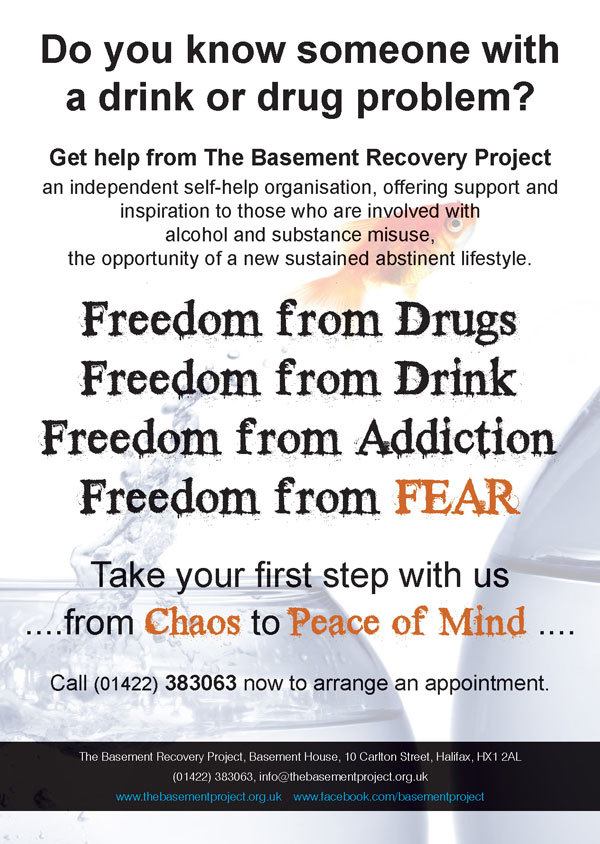 The Basement Recovery Project Generic Poster