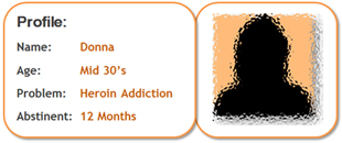 addiction recovery stories - Heroin Addiction by Donna