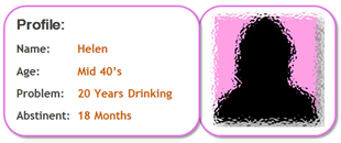 Recovery Stories - Helen - 2- year alcohol addiction