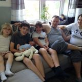Addiction Recovery Stories - TBRP - Picture of Kev with family